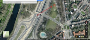 foto 1 locatie labyrint Noorderpark vergunning